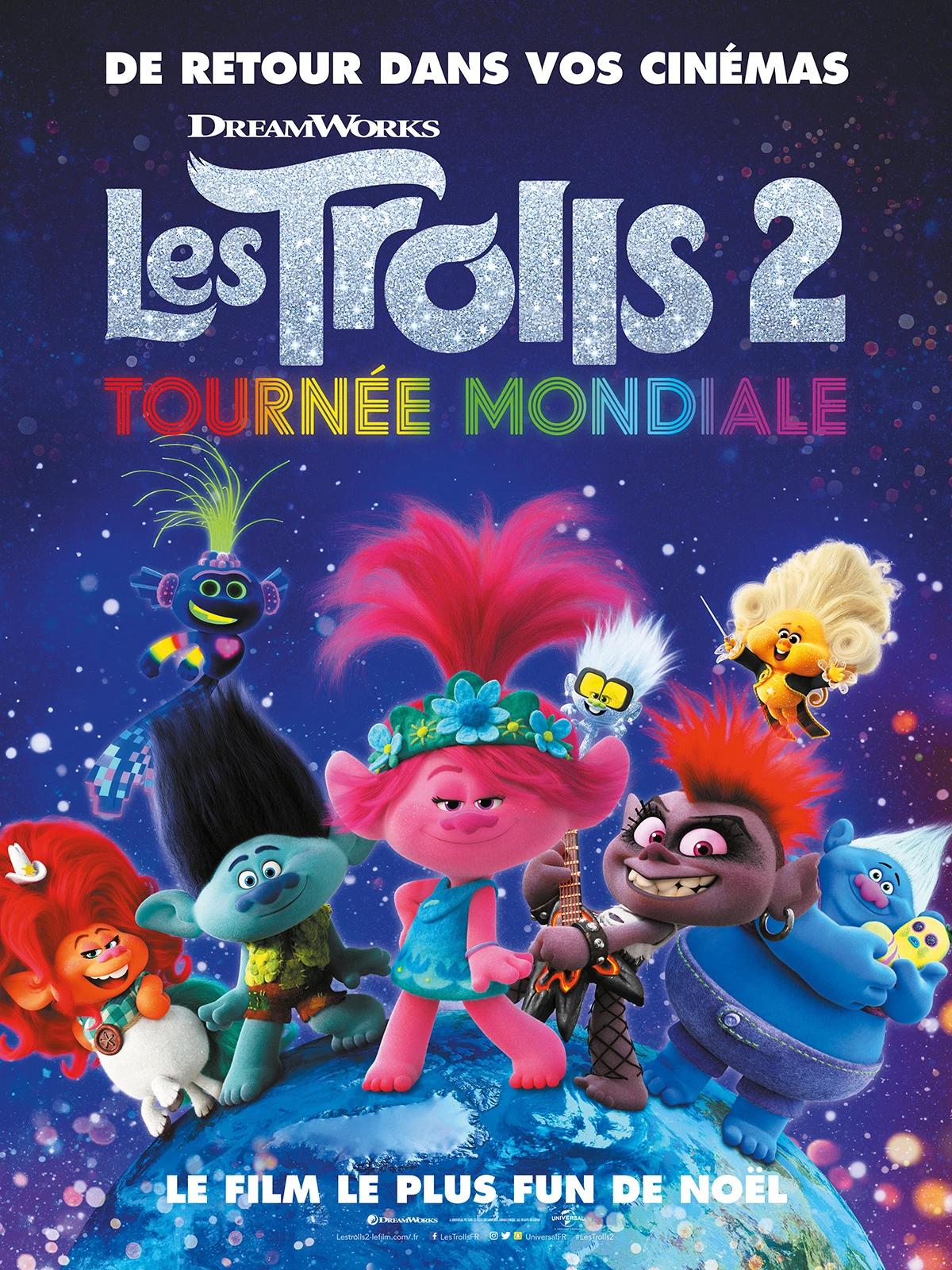 Les Trolls 2 : Tournée mondiale (Troll World Tour)