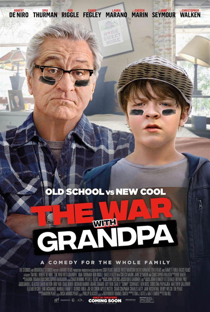 Mon grand-père et moi (The war with Grandpa)